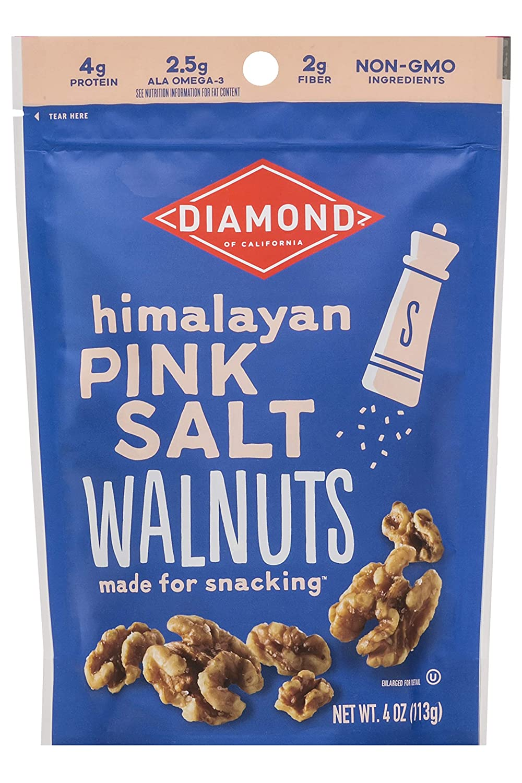 Topics on TV Diamond of California Himalayan Pink Salt Pack 1 oz online shop 4 Walnuts
