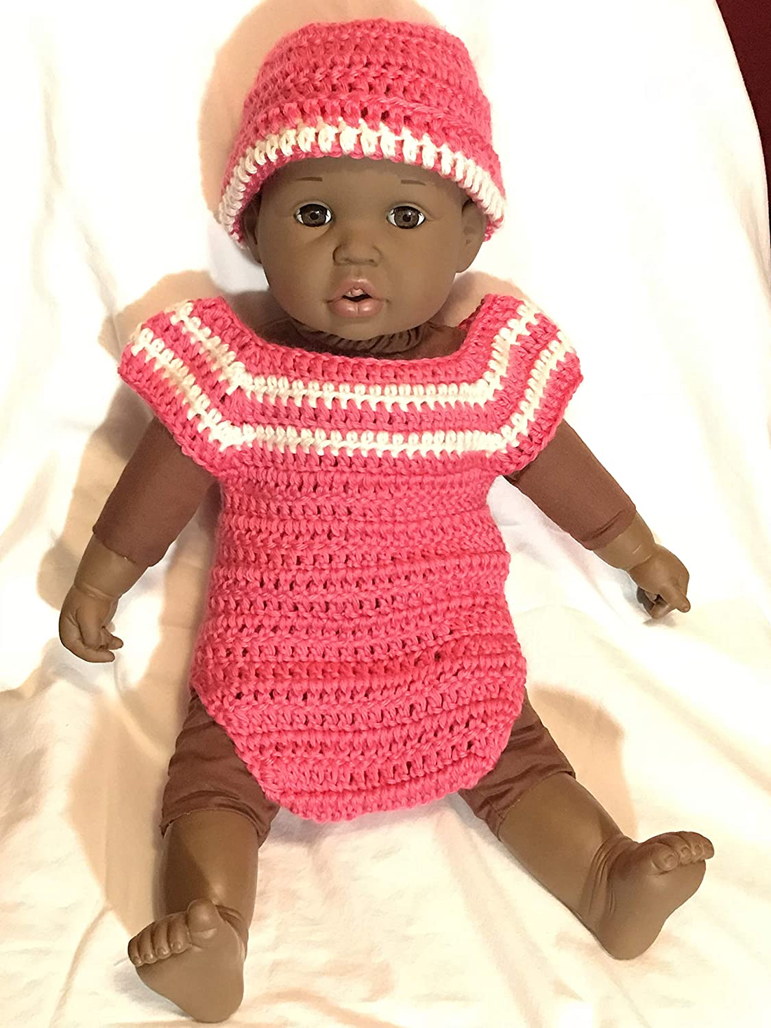 Crochet baby short Popular overseas sleeved with quality assurance romper hat