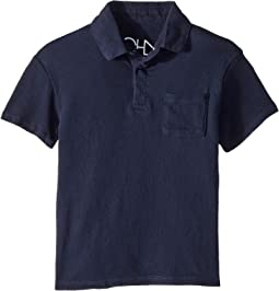 Chaser Kids - Cotton Jersey Short Sleeve Polo (Toddler/Little Kids)