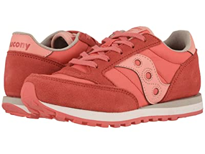 Saucony Kids Originals Jazz Original (Little Kid/Big Kid) (Pink/Pink) Girls Shoes