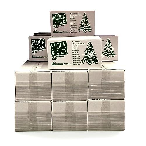 5 lbs of Flock You Choose Color Bonding Flock Tree Flocking Kit