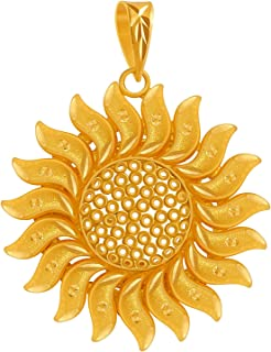 P. C. Chandra Jewellers 22KT Yellow Gold Pendant for Women