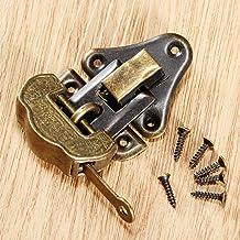 Nologo SSB-DAKOU 1 stuk sieraden brons antieke doos houten doos kantelslot slot + 1 stuk oude Chinese meubels accessoires ...