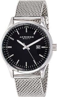 Akribos Xxiv Dress Watch Analog Display Japanese Quartz Movement For Men