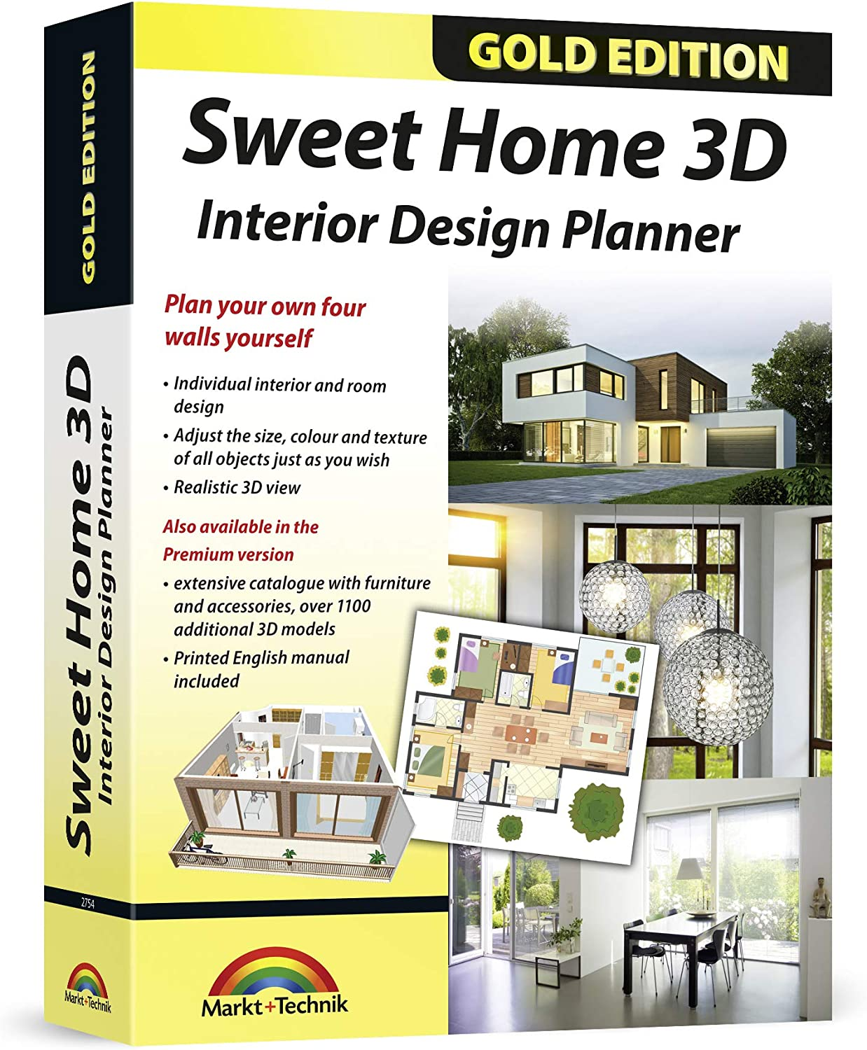 Buy Sweet Home 20D   Interior Design Planner with an additional ...