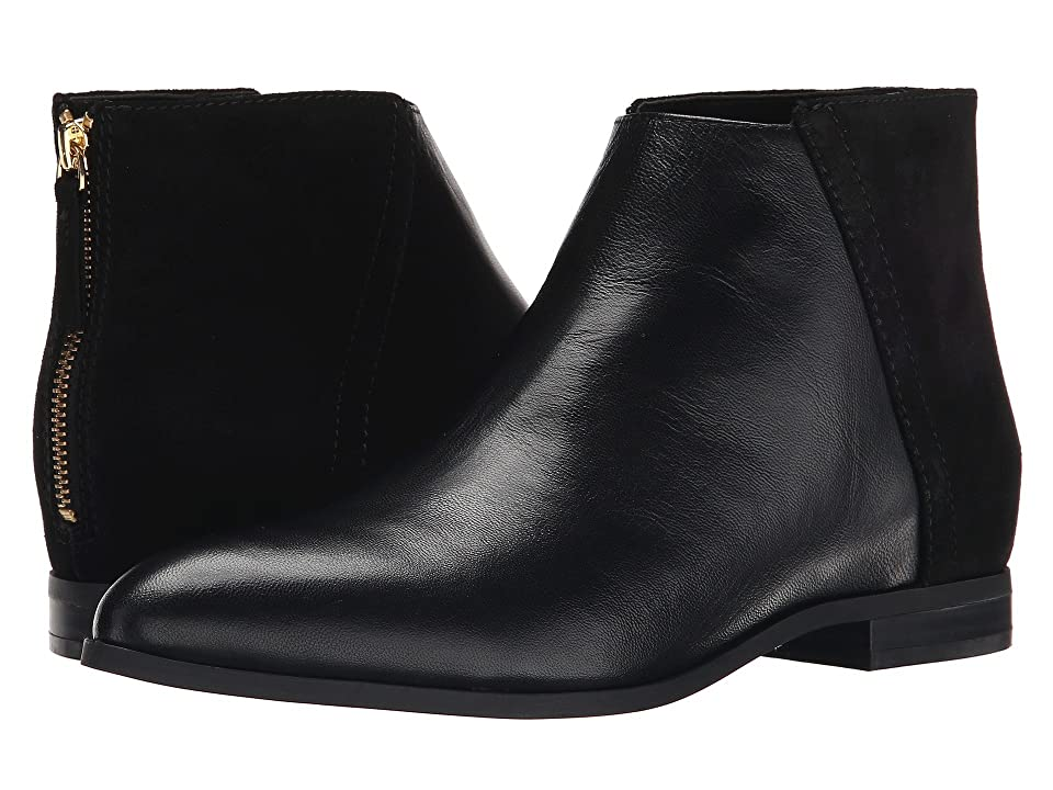Nine West Orion (Black/Black Leather) Women