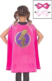 Super Hero Cape & Mask Set Costumes Age 3-8