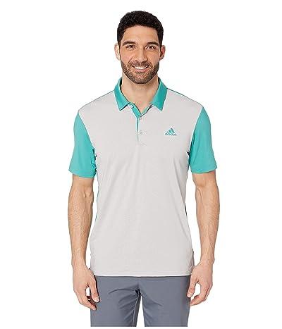 adidas Golf Ultimate 2D Camo Polo (True Green/Grey Two) Men