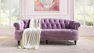 Jennifer Taylor Home La Rosa Sofa, Lavender