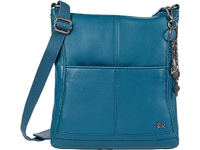 The Sak Lucia Crossbody (Teal) Cross Body Handbags