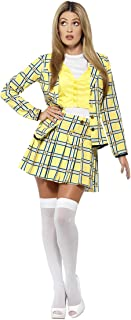 Smiffys Official Clueless Cher Suit Women's Costume (Small, Yellow)