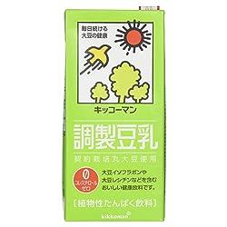 [冷蔵] キッコーマン 調製豆乳 1000ml