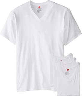 Hanes Men's Tall Man V-Neck T-Shirt (Pack of 3)