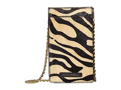 Loeffler Randall Augusta Chain Phone Crossbody (Tiger) Handbags