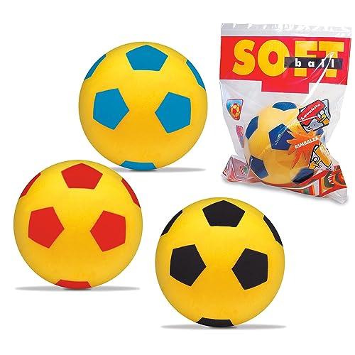 mondo - MOO852 - Jeu de Plein Air - Ballon foot mousse - D20 cm - Modèle aléatoire