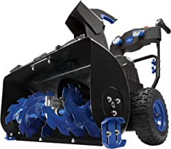 Snow Joe iON8024-CT 80-Volt iONMAX Cordless Two Stage Snow Blower | 24-Inch | 4-Speed | Headlights | Tool Only
