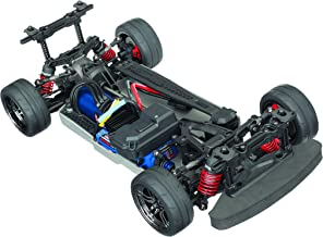 Traxxas Automobile Electric AWD Remote Control Brushless 4-Tec 2.0 VXL Race Car Chassis with TQi 2.4GHz radio and TSM, Size 1/10