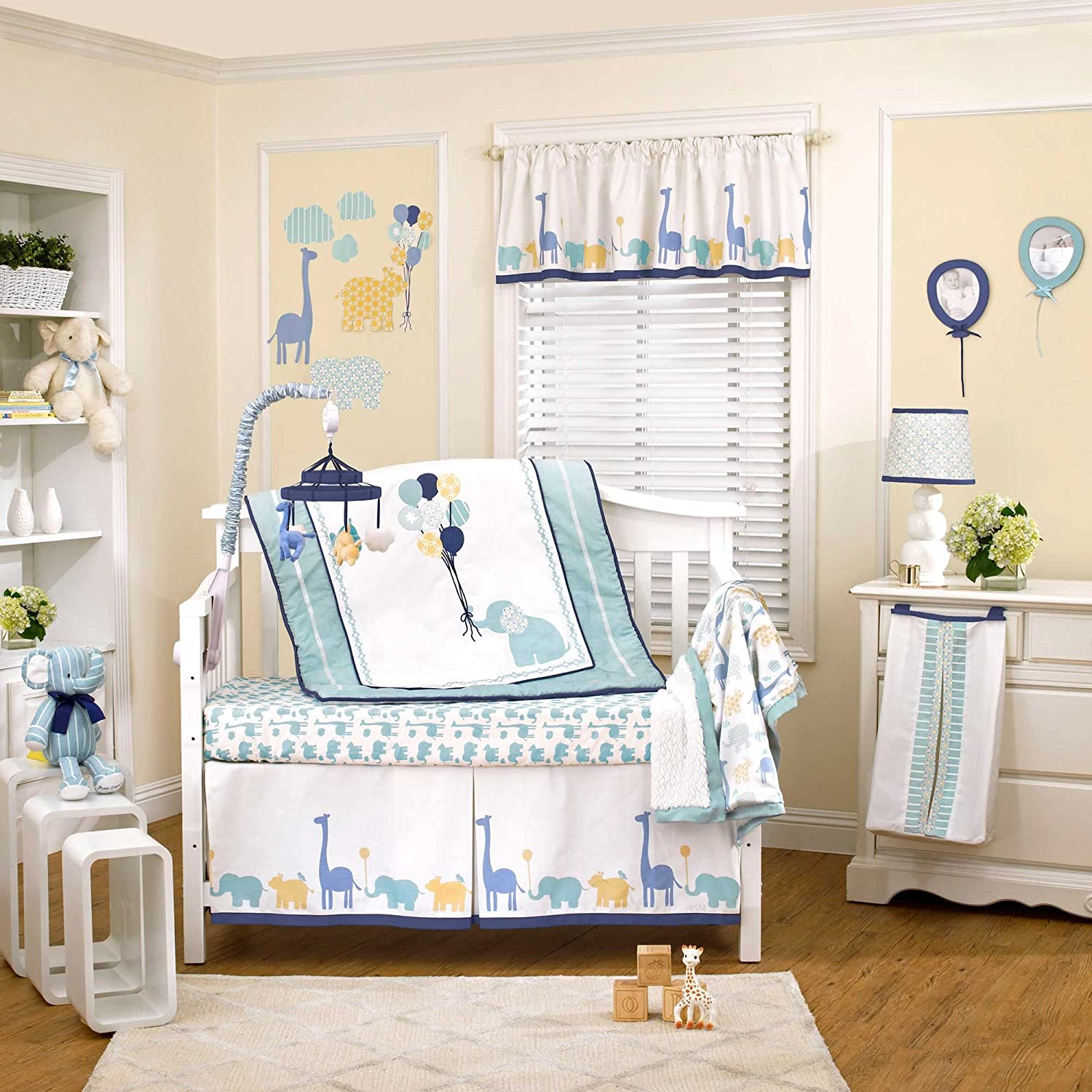 Happy Animals 4 Piece Baby Crib Cheap mail order specialty store by Set supreme Bedding Petit Tresor