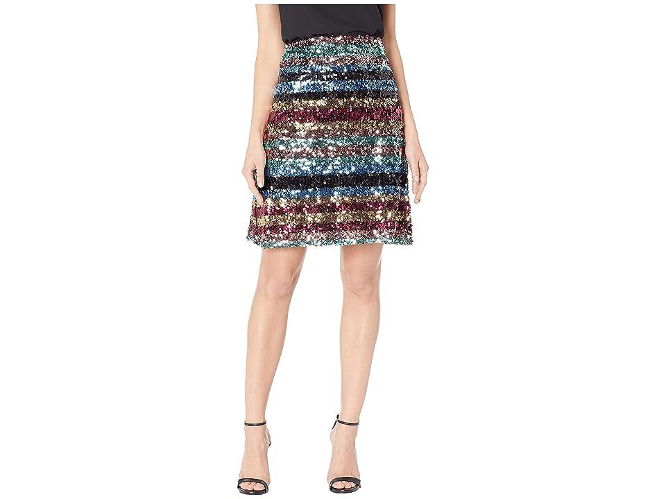 eci Sequin Skirt (Multi) Women