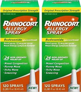 Best Rhinocort Allergy Spray, 2 Pack (120 Spray) Review