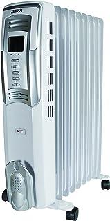 Zanussi 503025Radiador con baño de aceite con termostato electrónico 2500W