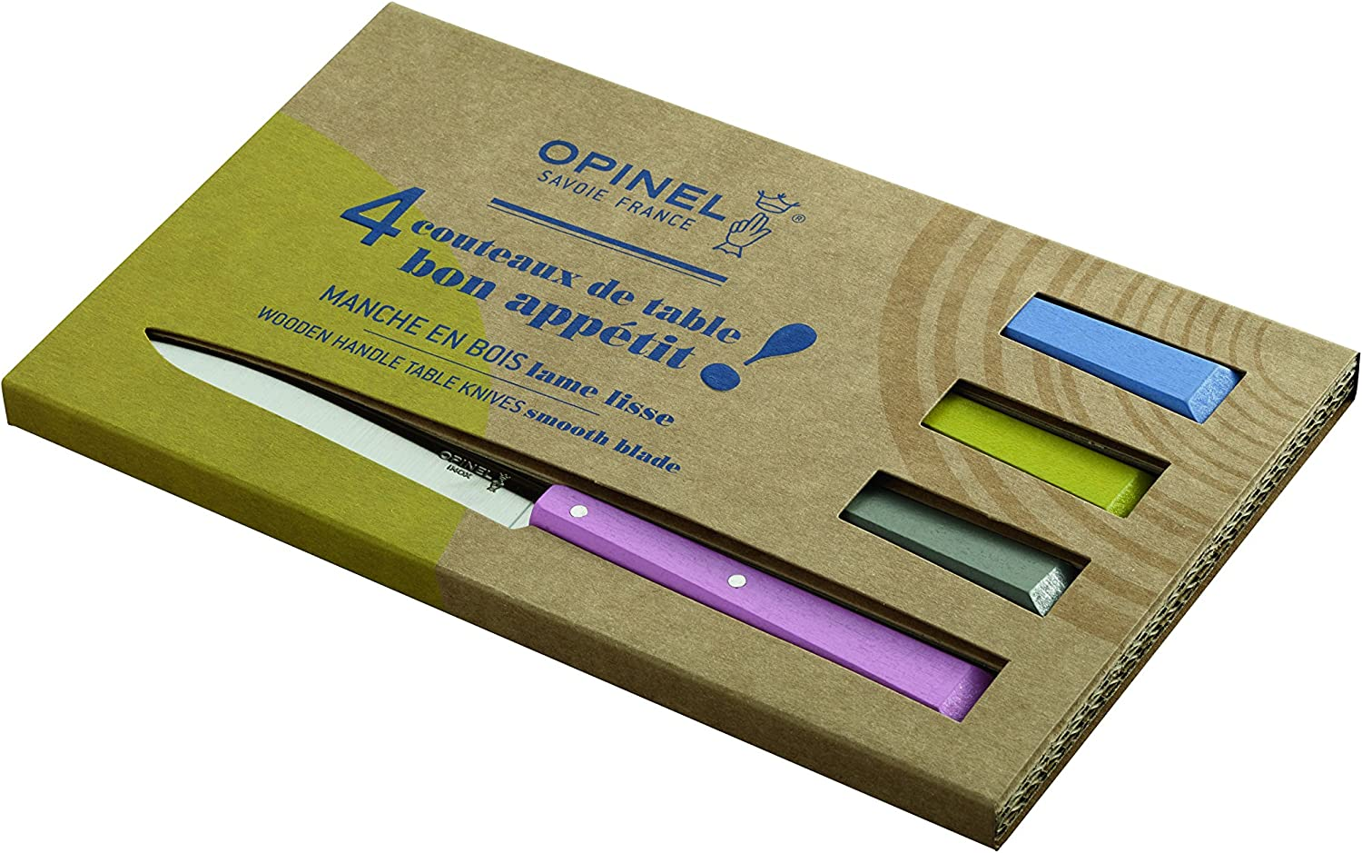 Opinel Table Knife Four Piece Set