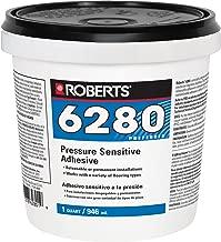 QEP CO INC ROBERTS R6280-0 Vinyl-Tile-adhesives, 1 Quart