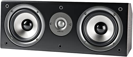 Polk Audio CS1 Series II Center Channel Speaker   Unique Design   Stand Alone or a Complement to Monitor 40, 60, and 70 Sp...