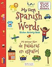 My First Spanish Words Sticker Activity Book/Mi Primer Libro de P