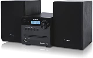 Sharp XL-B515D(BK) Microcadena con Radio Digital DAB/DAB+, 40 W, Bluetooth 4.2, USB, CD, MP3, Color Negro