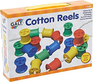Galt Toys, Cotton Reels, Threading Toy, Ages 3 Years Plus