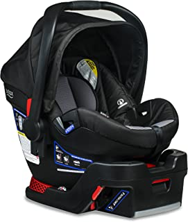 Britax B-Safe 35 Infant Car Seat - 4 to 35 Pounds - Rear Facing - 1 Layer Impact Protection, Ashton