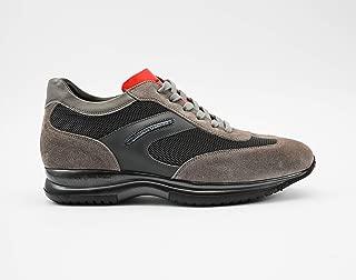 CRISTIANO GUALTIERI Sneaker Art.458 TX Grigio Rosso Scarpe