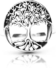Koral Jewelry Tree of Life Ring 925 Sterling Silver US Size 5 6 7 8 9 10