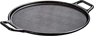 "Lodge P14P3 Cast Iron Baking Pan, 14"", Black"