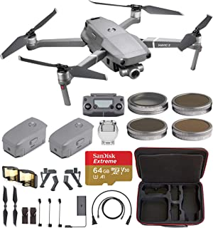 DJI Mavic 2 Zoom with One Extra Battery with Hard Professional Case, ND Filters Set and More