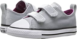 Chuck Taylor All Star Velvet 2V - Ox (Infant/Toddler)