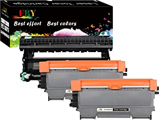 EBY Compatible Toner Cartridge Replacement for Brother TN450 TN420 Toner DR420 Drum HL 2270DW 2280DW MFC 7860DW 7360N HL-2230 2240 Intellifax 2840 2940 (Black, 3-Pack(2 Toners + 1 Drum), High Yield