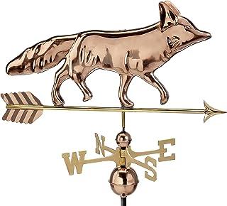 Good Directions Fox Weathervane, Pure Copper