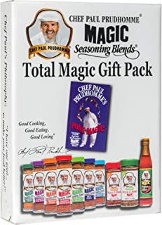 "Chef Paul Prudhomme's Magic Seasoning Blends ~ Total Magic Giftpack - ""PURE MAGIC"""