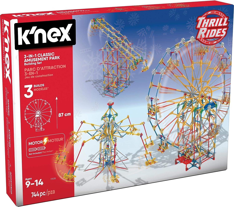 K 'nex 33485–Thrill Rides, Double Doom Roller Coaster