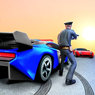 US Police Cop Pursuit Gangster Car Chase 2019: Offroad Driving Real Cop Fight Simulator Free 3D