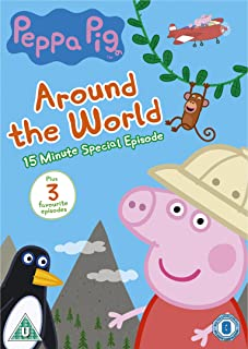 Peppa Pig: Around the World [Reino Unido] [DVD]