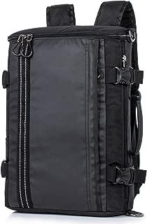 Heavy Duty Water Resistance Sport Backpack Travel Hiking Rucksack Multifunction Camping Bag (Large, Black2)