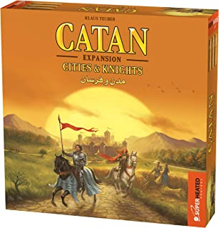 Catan Cities & Knights | 3-4 Players | Official Version | English and Arabic Language | Family Game For Ages 12+ | Board G...