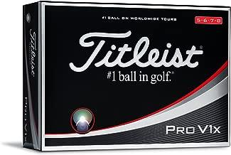 Titleist Pro V1x Prior Generation Golf Balls, White (One Dozen)