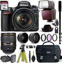 $1899 » Nikon D750 DSLR Camera with AF-S NIKKOR 24-120mm f/4G ED VR Lens + Nikon Gadget Bag & Accessory Bundle