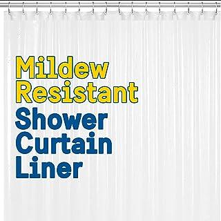 BigFoot Shower Curtain Liner – 72 x 72 Heavy Duty PEVA...