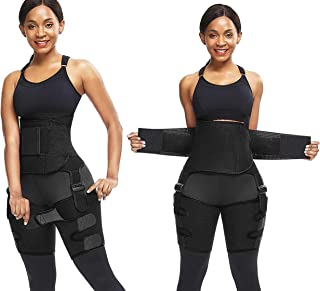 HerBose Waist Trainer for Women I Butt Lifter and Hip Trainer I Thigh Trimmers Eraser Shapeware Booty Belt I Weight Loss E...