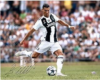 Cristiano Ronaldo Juventus F.C. Autographed 16